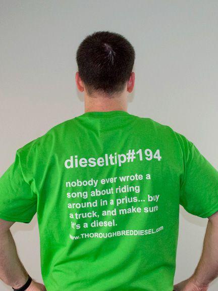 Thoroughbred Diesel DieselTip#194 T-Shirt