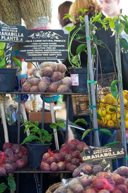 Granadilla (Passion Fruit) Plants - Oranjezicht City Farm Market - Cape Town    bthings.me