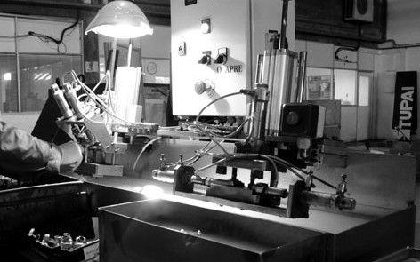 » Mecanização Transformamos o aço inoxidável, latão e zamak. Temos capacidade para executar cerca de 150 acabamentos com equipamentos tecnologicamente sofisticados. Sempre com respeito pelo o meio ambiente, por isso temos a certificação ambiental desde 2011. Mais informações: www.tupai.pt #smartsolutions #tupai