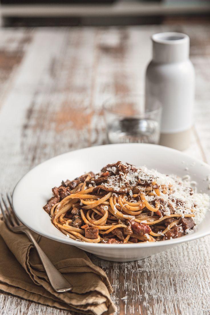 Bolognese-Style-Mushroom-Ragu recipe by Karen Martini on IQS now. – I Quit Sugar