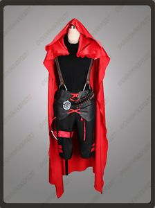 Rwby Red Trailer Ruby Rose Cosplay Costume Man Version | eBay