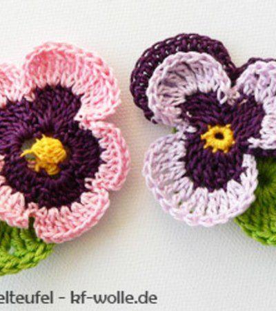 43 best Blumen images on Pinterest | Blumen häkeln, Häkelideen und ...