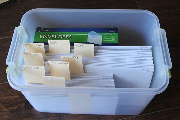 Happily Ever Strader: FINANCIAL PEACE: How to: The Envelope System