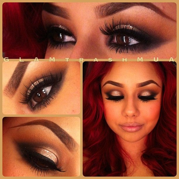 .@glam_trash_mua | Romantic makeup my fave combo! Happy valentine's day lovelies!!! #GLAMtrashMU... | Webstagram - the best Instagram viewer