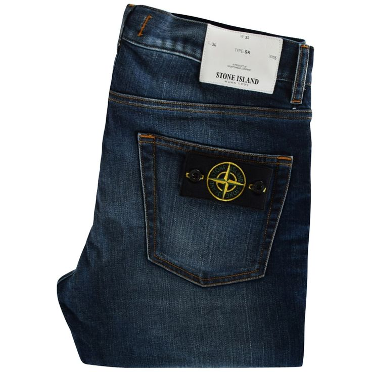 STONE ISLAND Real Dark-Wash Skinny Fit Jeans