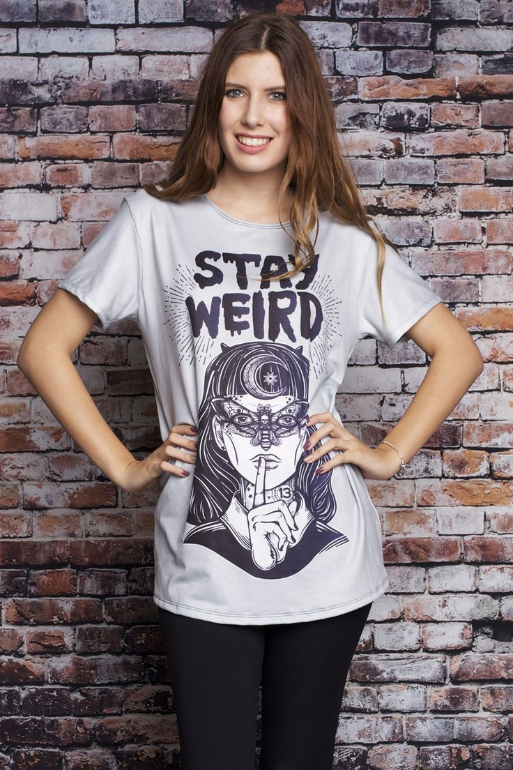 Stay Weird Tee - $44.00 AUD