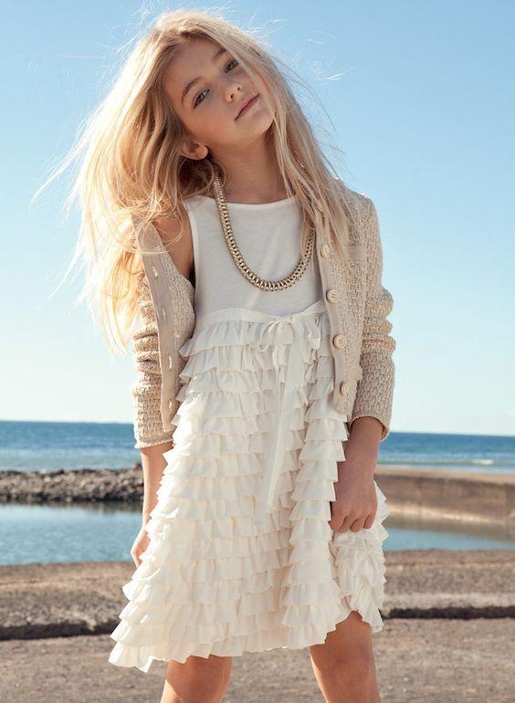 Twin-Set Girl SS14, moda italiana para niñas primavera-verano http://www.minimoda.es: