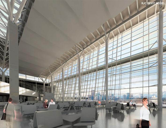 Calgary International Airport - International Facilities Project   Gateway to the World and my gateway to the Uk my dad is also one of the workers involved with it's construction.