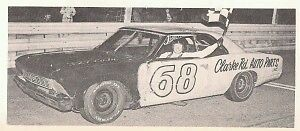 Vintage Delaware Speedway 1979 Street Stock 12th place points trophy Ron Ling