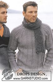 Ravelry: 85-2 a - Of The Sea Pullover pattern by DROPS design