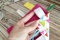 Cómo hacer una manta juego para bebé | DIY | baby handmade