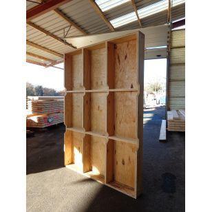 1000 id es propos de panneaux de murs en bois sur pinterest boiseries relooking peindre. Black Bedroom Furniture Sets. Home Design Ideas