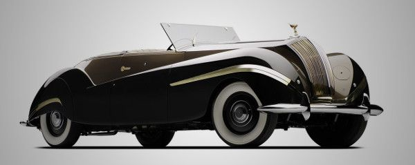 1939 Rolls-Royce Phantom III Cabriolet, easily the most gorgeous British car ever made.