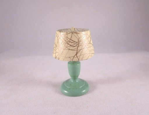 "Strombecker 1"" Table Lamp Dollhouse Accessory"
