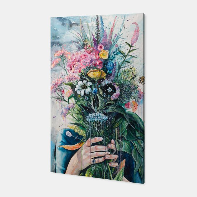 The Last Flowers Canvas