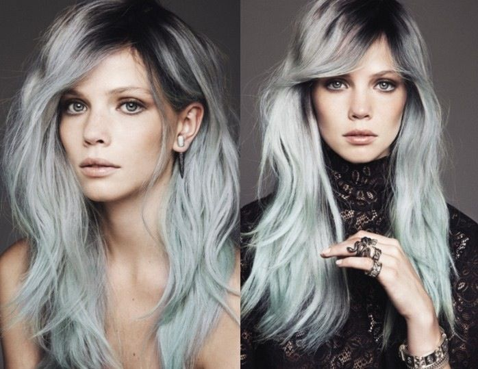 Gray is the new blonde  This year s hair color and hairstyle trends include  numerous gray hairstyles that are more eye catching than blonde or any  11 best Hair Color  Extreme Roots images on Pinterest   Hairstyles  . New Blonde Hair Trends 2015. Home Design Ideas