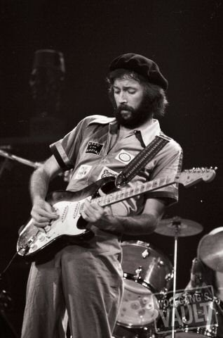 Eric Clapton - New Haven Veterans Memorial Coliseum (New Haven, CT) Jun 29, 1975