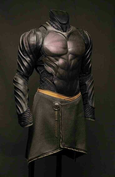Very Expensive Leather Armor - Perhaps Designed for Nobility