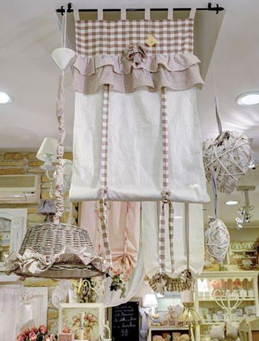 201 best images about tende on pinterest window - Tende shabby cucina ...