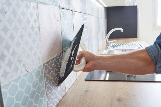 Carrelage Mural Posez Le Sans Colle Ni Poussiere Cocinas Parement Mural Carrelage Mural Et Carrelage