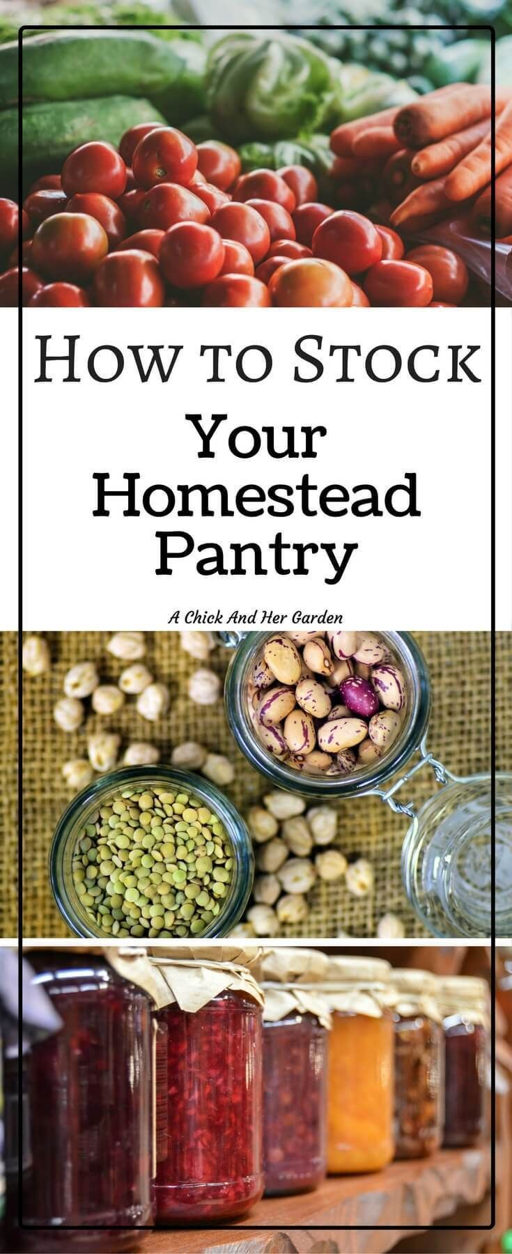 All families are unique, which makes all pantries unique. Follow these steps to make a pantry that fits your homestead! Learn how to stock YOUR homestead pantry!