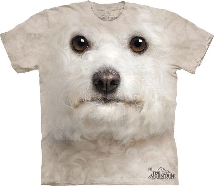 Big Face Bichon Frise T-Shirt @ Epic-Shirts.com - Available at website