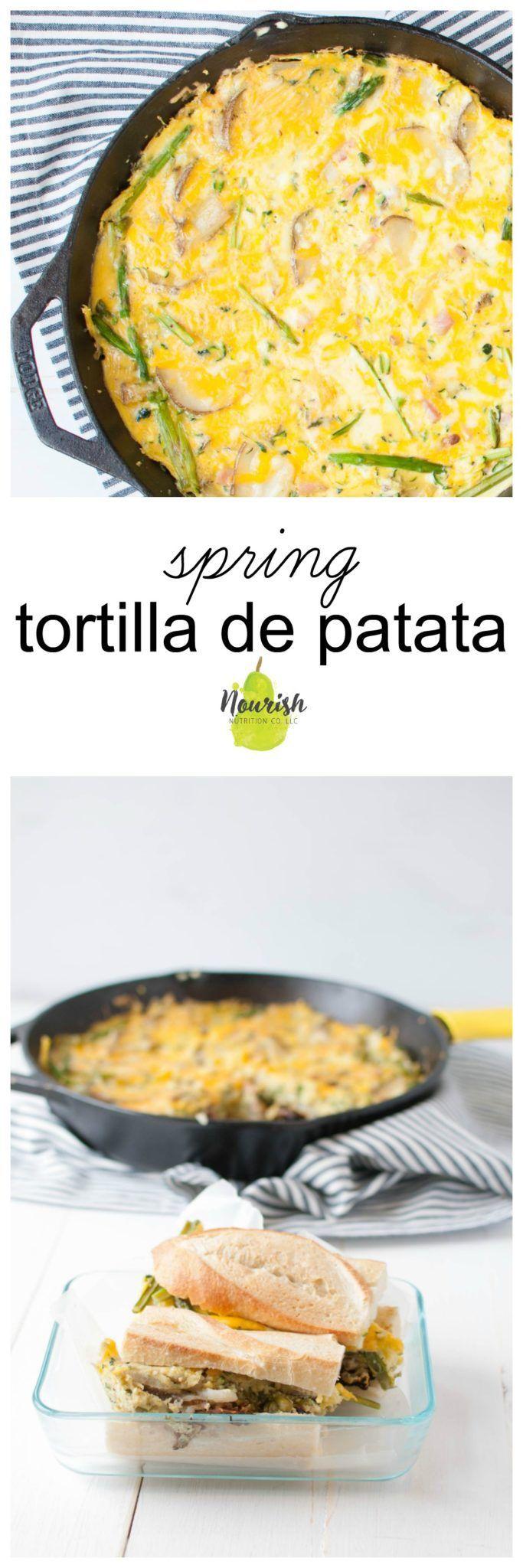 Spring Tortilla de Patata Sandwich