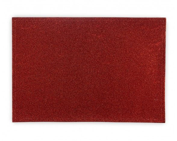 RED SQUARE GLITTER PLACEMAT 33X48CM - Linens & table accessories - Dining | Stokes Inc. Canada's Online Kitchen Store