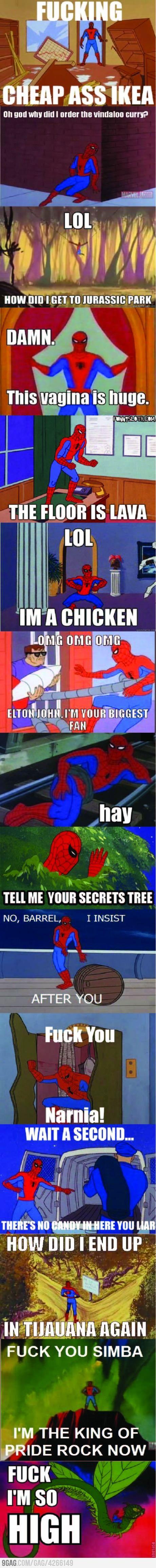 oh spidey haha