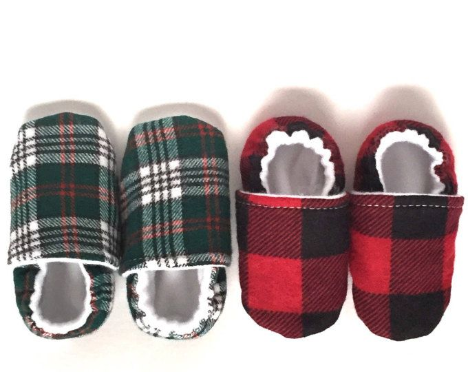 These cozy buffalo plaid baby shoes are made from 100% vegan, cruelty free materials. The upper lining is the traditional plaid flannel fabric. This snuggly material -flannel- brings the holidays right in to your little precious baby's foot.The inner lining is a soft polar wool fabric that keeps baby's foot protected.The white non-slip, grippy bottom will help your baby feel secure while practicing the science of walking. #baby #love #affiliate