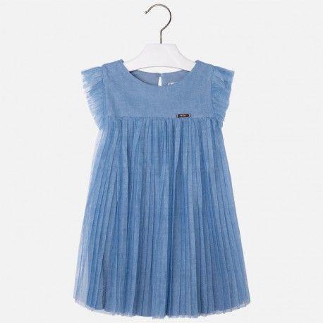 Mayoral kék tüll ruha. #ckf #kidsclothes #gyerekruha #mayoral #tüll #tulle #kék #blue