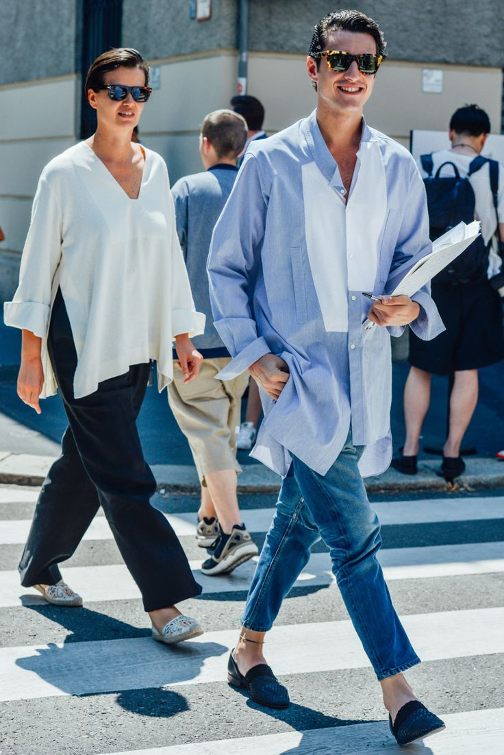 dutchafro: in Milan by Tommy Ton - Button Up Your Shirt