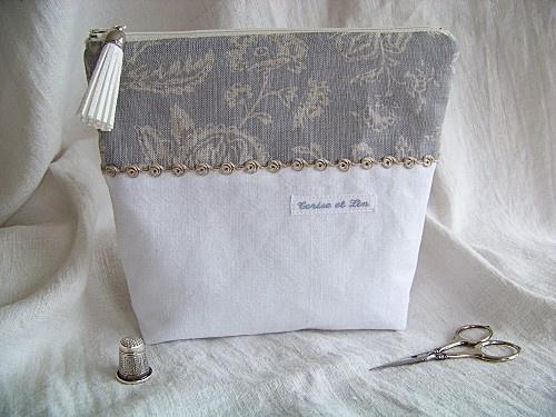 Tutos - Trousse C  R et… - Boîte à filtres à… - Petit sac Westie et… - Panière d'antan et… - Boîte à gants et… - L'Atelier Cerise et Lin