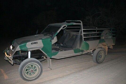 Our anti poaching vehicle