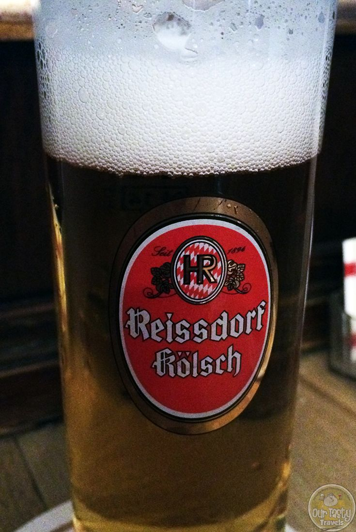 4-Apr-2015 : Reissdorf Kölsch by Privat-Brauerei Heinrich Reissdorf. Small Brauhaus outside the city center. Cheaper and more local than similar places in the altstadt, but just as good! #ottbeerdiary