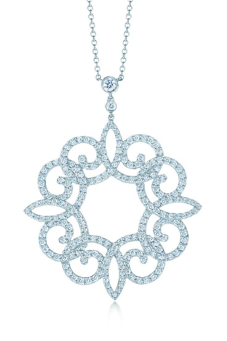 Tiffany Enchant®:scroll Pendant