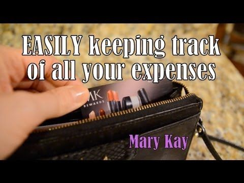 ▶ EASY TIPS! Keep Track of Expenses for Mary Kay - YouTube