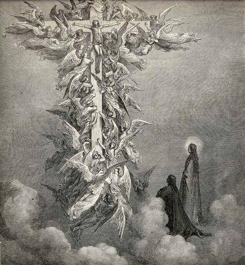 """Gustave Doré - Illustration de """"La Divine Comédie"""" de Dante Alighieri - Le…"""
