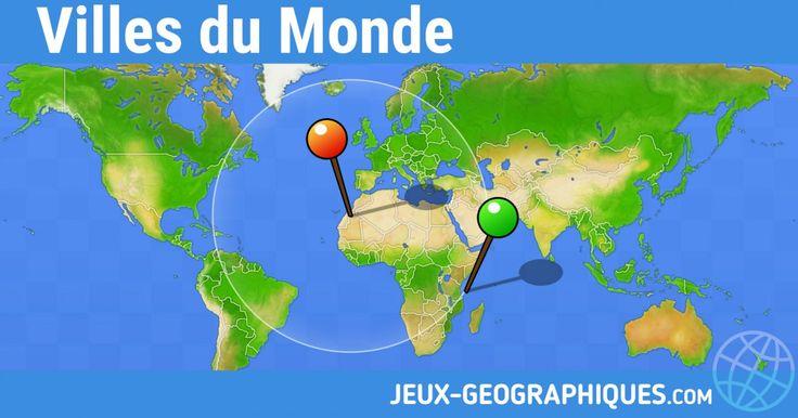 jeux-geographiques.com : Site de jeux en ligne gratuits de géographie sans inscription. Testez vos connaissances sur le Monde, l'Europe, la France, la Belgique, le Québec...