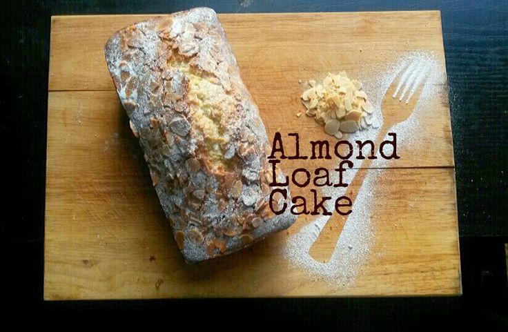 Almond Loaf Cake by @MrsUMakes