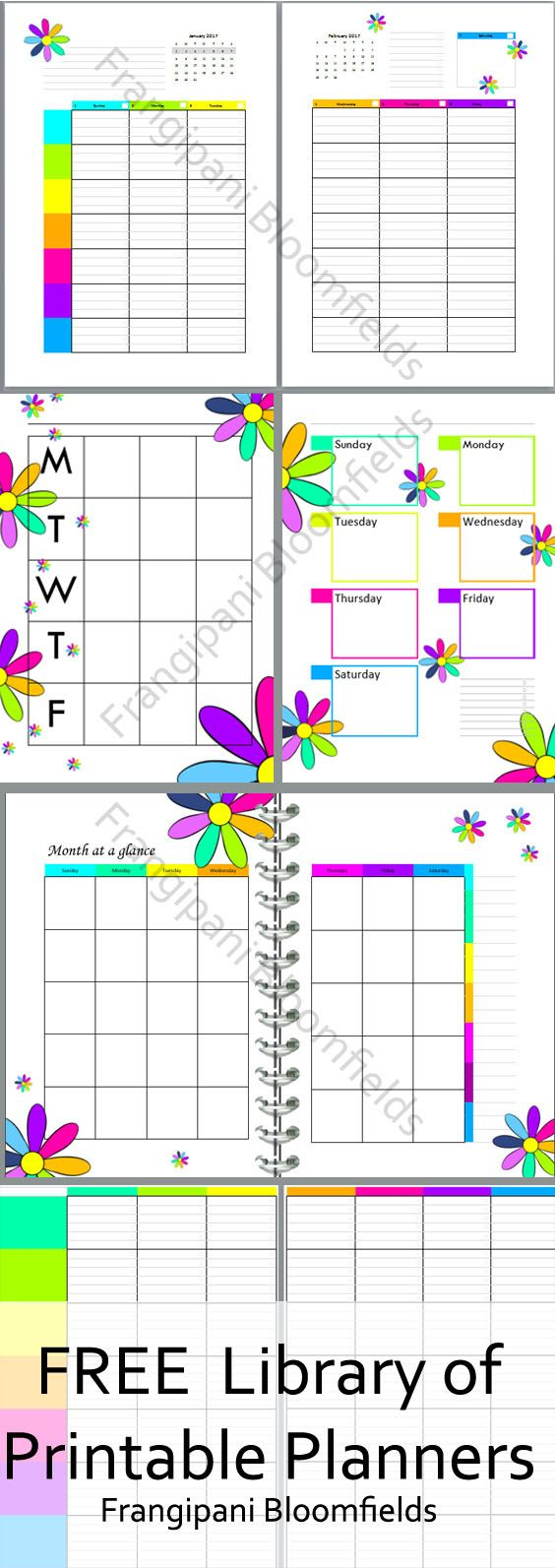 Free Homeschool Planner | FInancial Planner | Blog Planner |Printable | Homeschooling | Education | Learning | Teacher | Student | Curriculum Plan. Visit Frangipani Bloomfields to access the free library of printables or pin for later!