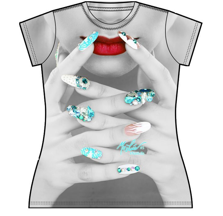 Best nail tech t shirts images on pinterest
