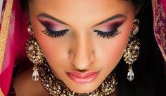 Непревзойденный индийский макияж  розовыми тенями ::: onelady.ru ::: #makeup #eyes #eyemakeup