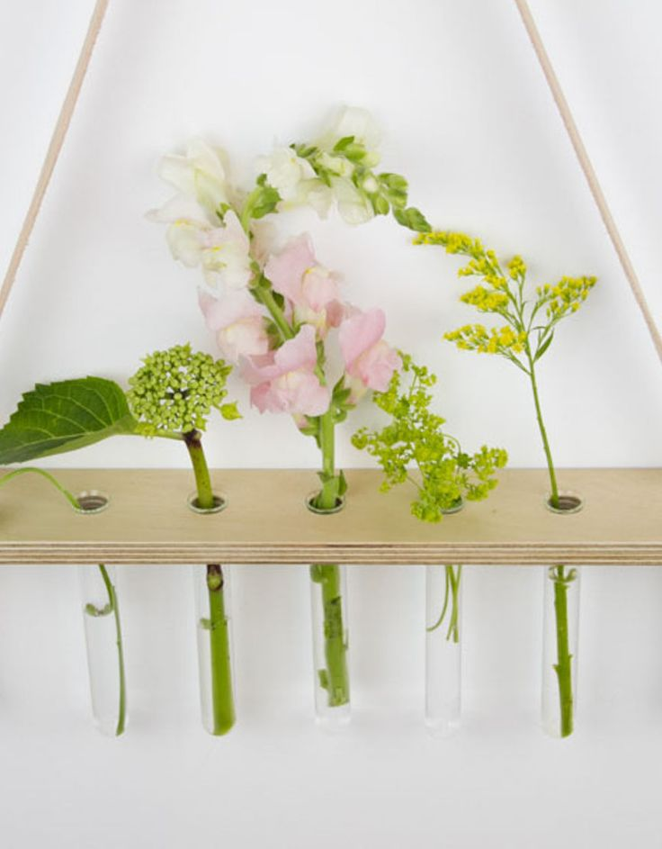 Hanging vase for flowers - created by Of Noble Nature, Wellington, NZ