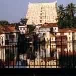 Shri Padmanabhaswamy Temple in Thiruvananthapuram.