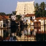 Shri Padmanabhaswamy Temple in Thiruvananthapuram.