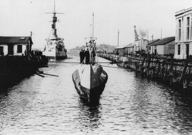 FORO BASE NAVAL - Submarinos tipo H - Submarinos en la Armada de Chile