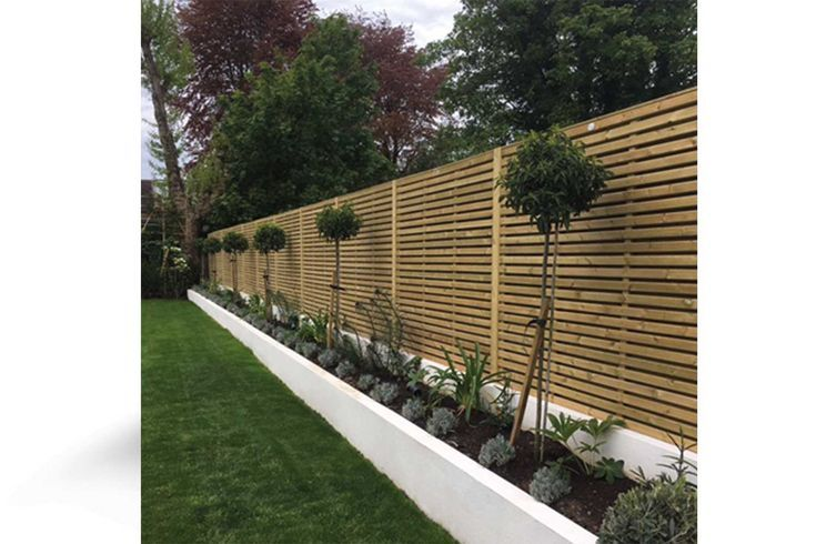 Deluxe Contemporary Fencing Panel High Quality Garden Fencing Panels At Great P Garden Fence Panels Contemporary Garden Contemporary Fencing