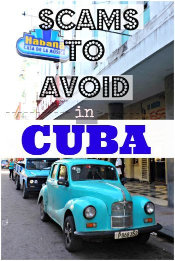 Scams to Avoid in Cuba Pinterest Small