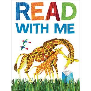 Read with Me Poster